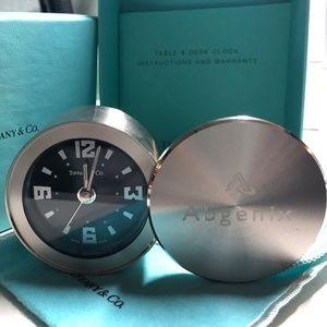 Tiffany Swivel-lid alarm clock MINT CONDITION